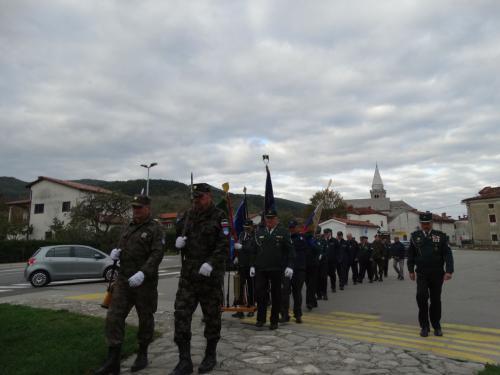 Obisk spomenikov ob Dnevu spomina na mrtve, 30.10.2019
