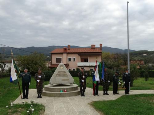 Prvačina - Spomenik osamosvojitve