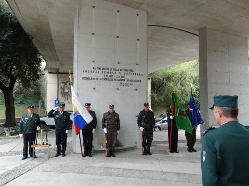 Solkan - Spomenik Andreju Komelu pl. Sočebranu