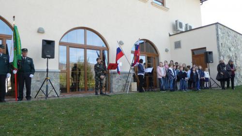 Veteranska Vladka Gal je povezovala in vodila program slovesnosti