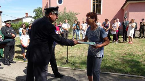 Priznanje je prejela Marija Žužič