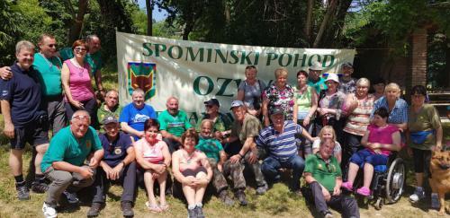 Spominski pohod MSNZ, Šempeter, 8.6.2019