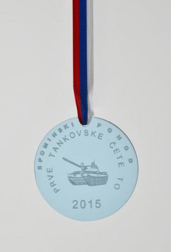 Medalja za Spominski pohod Prve tankovske čete
