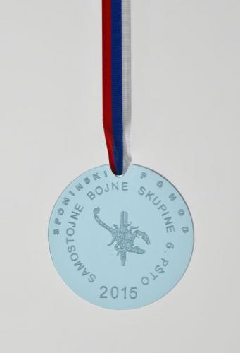 Medalja za Spominski pohod Samostojne bojne skupine 6. PŠTO