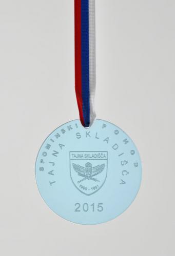 Medalja za Spominski pohod Tajna skladišča