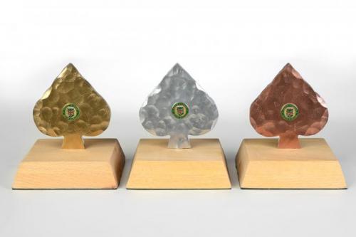 Pokali za tekmovanje v briškuli