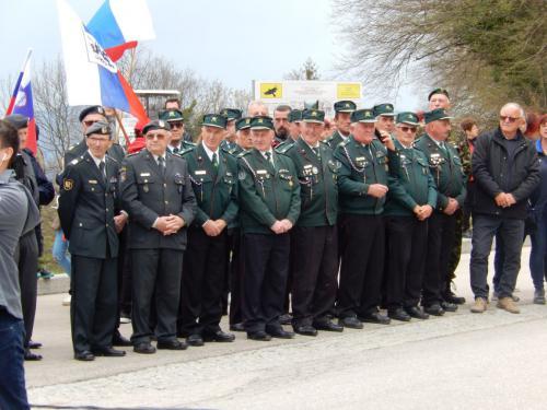 Veterani na prizorišču