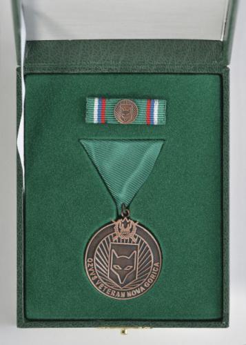 Bronasta medalja OZVVS »VETERAN« Nova Gorica