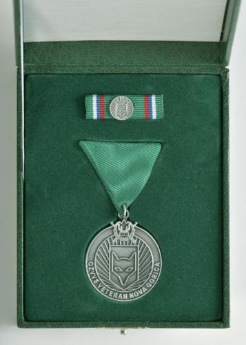 Srebrna medalja OZVVS »VETERAN« Nova Gorica