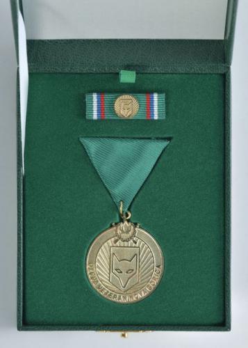 Zlata medalja OZVVS »VETERAN« Nova Gorica