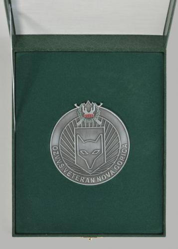 Srebrna plaketa OZVVS »VETERAN« Nova Gorica