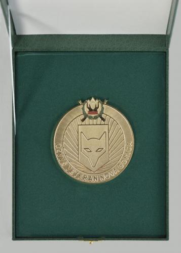 Zlata plaketa  OZVVS »VETERAN« Nova Gorica