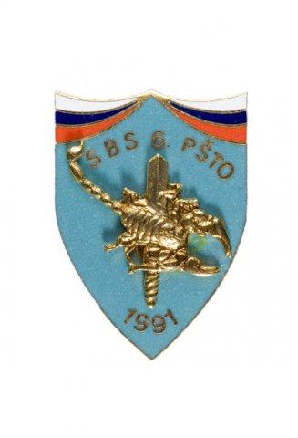Znak Samostojna bojna skupina 6. PŠTO - Podeljeno je 9 znakov