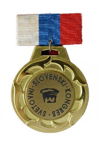Medalja Svetovnega slovenskega kongresa - Podeljenih je 9 medalj
