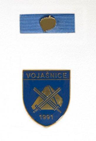 Vojašnice 1991 - Podeljeno je 18 znakov